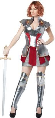 California Costumes Women's Joan of Arc Historical Heroine Costume