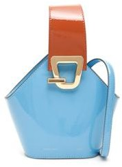 Danse Lente Mini Johnny Patent Bucket Bag