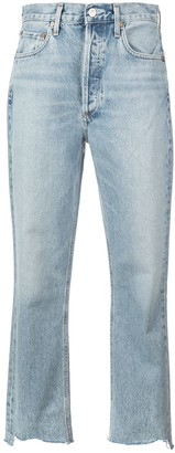 AGOLDE Riley crop jeans