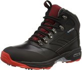 Hi-Tec 2015 Dri-Tec Evoque Mid Leather Lightweight Mens Golf Walking Boots - Waterproof 7UK