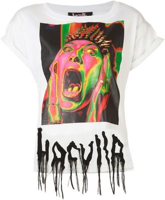 Haculla Argh print T-shirt