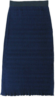 Nomia Blue Polyester Skirts