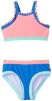 Seafolly Festival Surf Block Tankini Set Girl's Swimwear Sets