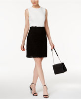 Betsey Johnson Contrast Sheath Dress