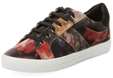 Joie Dakota Printed Leather Low Top Sneaker