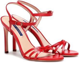 Stuart Weitzman Starla 105 leather sandals