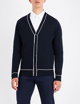 Sandro V-neck pure wool cardigan