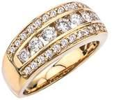 Ax Jewelry Diamond Band In 14k Yellow Gold (1.00 Carats, I-j I1).