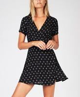 Don't Ask Amanda Millie Wrap Dress Diamond Print