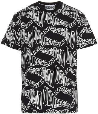 Moschino All Over Logo T-Shirt