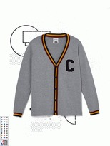 Frank and Oak Cleveland Cavaliers Varsity Cardigan in Grey
