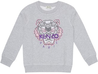 Kenzo Kids Cotton-blend sweatshirt