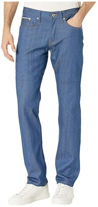 Naked & Famous Denim Weird Guy - Island Blue Stretch Selvedge Jeans (Island Blue Stretch Selvedge) Men's Jeans