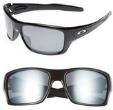 Oakley Men's Turbine 65Mm Polarized Sunglasses - Black