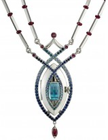 pristine (PR) Reine de Glace Mokume Platinum Locket