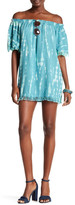Tiare Hawaii Iris Fringe Dress