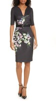 Ted Baker Soliaa Pergola Floral Body-Con Dress