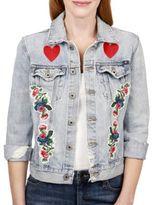 Lucky Brand Garden Denim Jacket