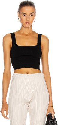 Matteau Nineties Knit Tank Top in Black | FWRD