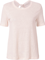 A.L.C. Leigh Tie Back Pale Tee