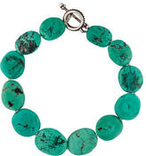 Stephen Dweck Turquoise Bead Necklace