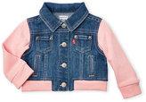 Levi's Infant Girls) Alina Denim Sweatshirt Jacket