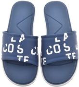 Lacoste L30 Slide Flip Flops Blue
