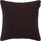 Gant Velvet Cushion - 50x50cm - Purple Fig