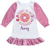 Pink JoJo Siwa 'My Swagger' Personalized Nightgown - Girls