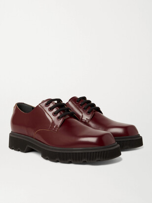 Gucci Mystras Leather Derby Shoes