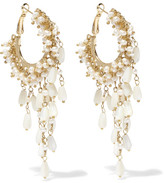 Rosantica Pascoli Gold-tone Mother-of-pearl Earrings - one size
