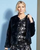Fashion World Short Faux Fur Coat