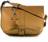 A.F.Vandevorst metallic buckled satchel