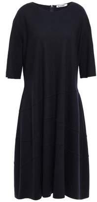 Jil Sander Brushed Wool-jersey Dress