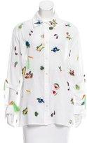 Rosie Assoulin Button-Up Salad Bar Top w/ Tags