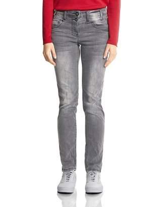Cecil Women's 371852 Scarlett Straight Jeans