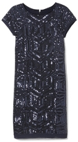 Vince Camuto Deco Sequin Dress
