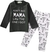 Ma&Baby Newborn Toddler Baby Boy Outfits Clothes Cute T-shirt Arrows Pants 2PCS Set (0-6 Months)