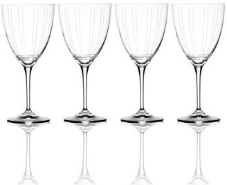Mikasa Berlin 4-pc. White Wine Glass Set