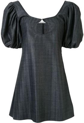 Georgia Alice Mia puff-sleeved mini dress