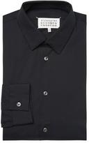 Maison Margiela Men's Spread Collar Dress Shirt