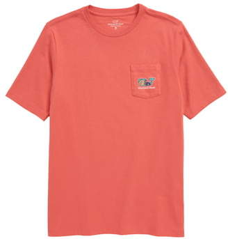 Vineyard Vines Tailgate Whale Pocket T-Shirt