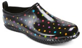 Western Chief Women's Polka Dot Rain Shoes - Black