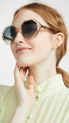 Chloé Willow Octagonal Sunglasses