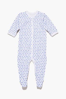 Roller Rabbit Blue Infant Hearts Pajamas