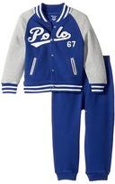 Ralph Lauren Cotton Terry Jacket Pants Set Boy's Active Sets