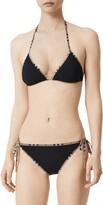 Burberry Mata Vintage Check Trim Two-Piece Swimsuit