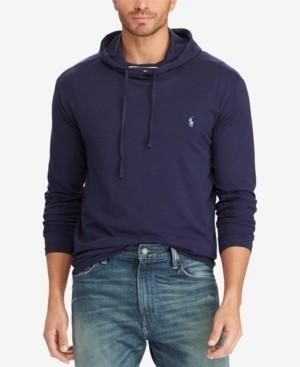 Polo Ralph Lauren Men's Big & Tall Hooded Long Sleeve T-Shirt