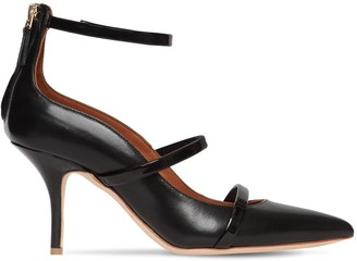 Malone Souliers 70mm Robyn Nappa & Patent Leather Pumps