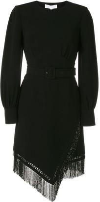 Nk Fringe Belted Dress